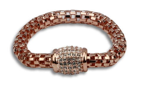 Stella chain design bracelet with embellishments - Beauty & Bronze Clothing and Accessories