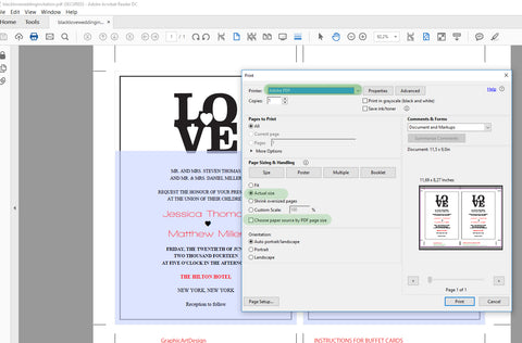 How to print your printables the best settings