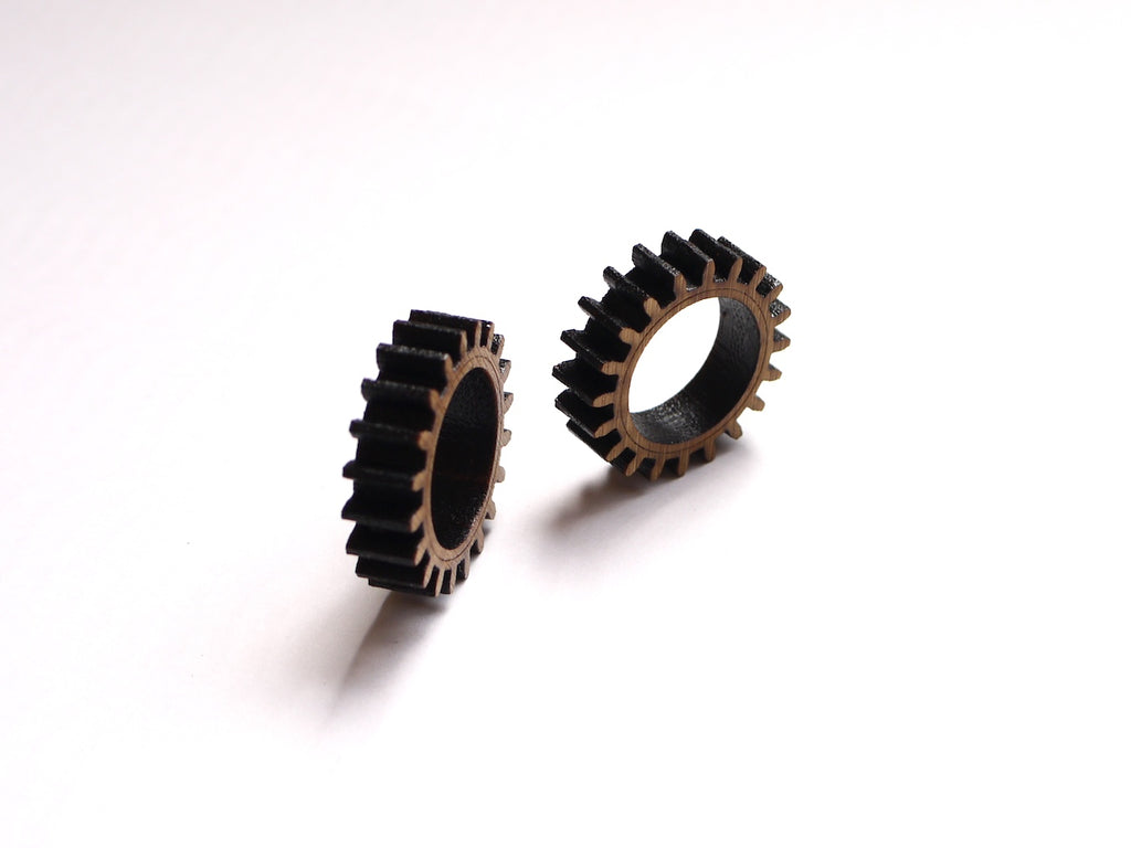 Make Your Own Fidget Rings - DIY Wood Gear Rings (A Laser Cutting Project)