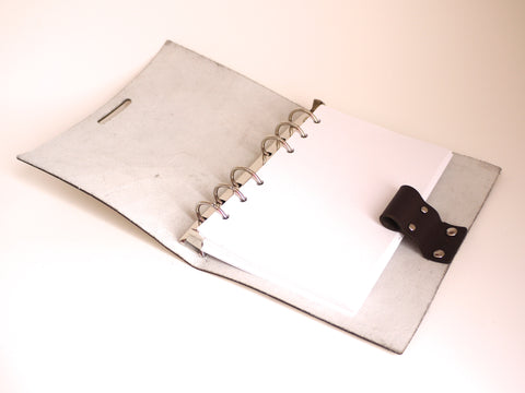 refillable leather journal with paper