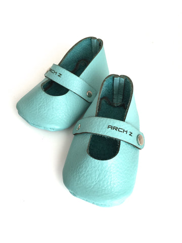 Leather Baby Shoes - Mary Jane Shoes