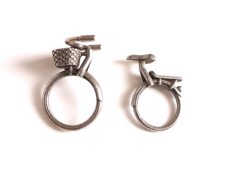 Bicycle Rings jewelry