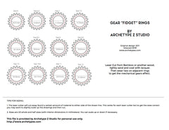 Image of Gear Rings template