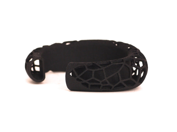 Polygon Cuff Bracelet - 3D Printed Jewelry