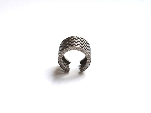 stainless steel honeycomb ring