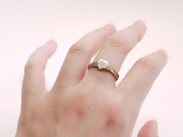 3d printed heart ring