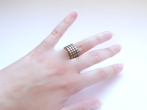 3d printed stainless steel ring