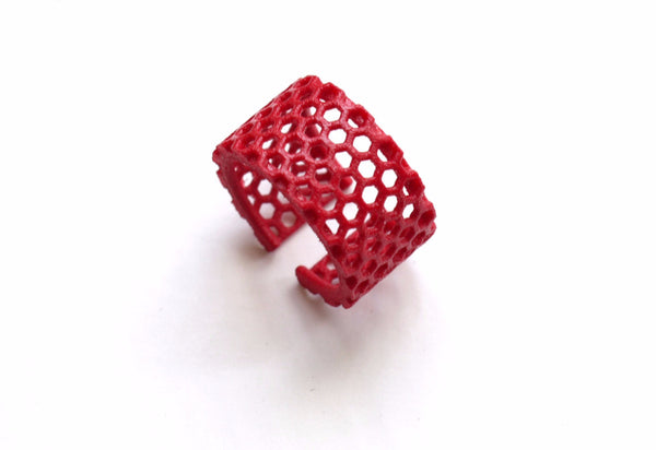 3d printed red ring