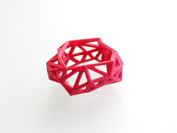 3d printed Triangulated Ring