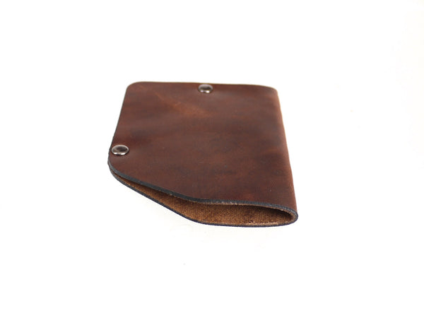 horween leather slim wallet