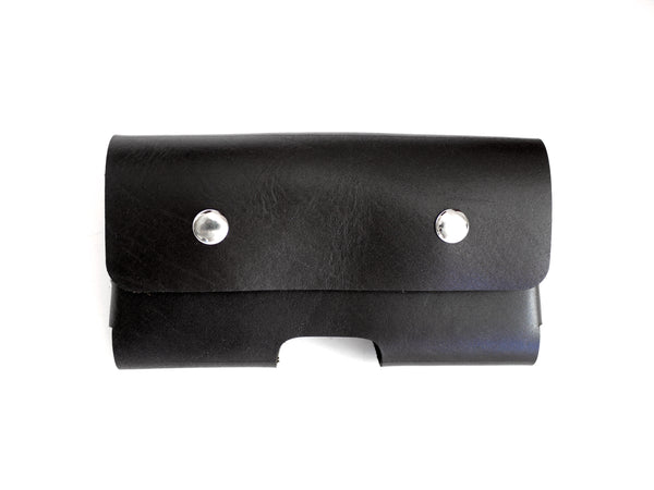iPhone 11 XR Holster in Black Leather