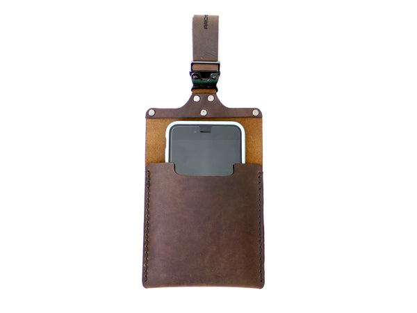 Leather Smartphone Holder for Strollers