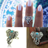 FREE Silver Plated Tibetan Elephant Ring