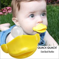 Cute Baby Duck Pacifier
