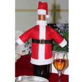 Cute Santa Claus Wine Bottle Cover