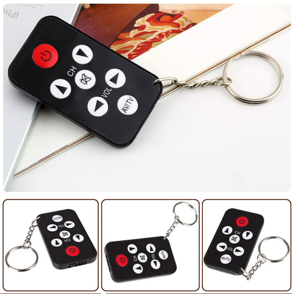 Mini Universal Remote Keychain for Philips, Sony, Panasonic, Samsung & Toshiba