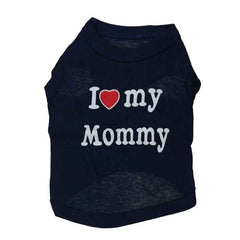 I Love my Mommy Dog Vest