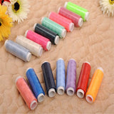 39 different color Set of 100% Polyester Sewing Thread