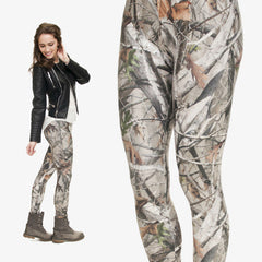3D Camo Tree Leggings