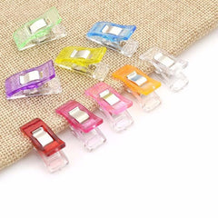 50Pcs Multicolor Sewing Clip Set