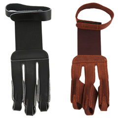 Archery Protective  3 Finger Pull Glove