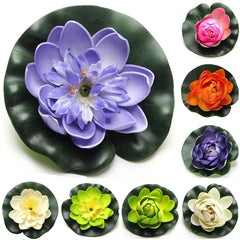 8pcs Floating Water Lily Flower Decor