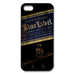 Classic Johnnie Walker Blue Label Hard Case Cover For Iphone 4 4s 5 5s 5c 6 6plus & 7