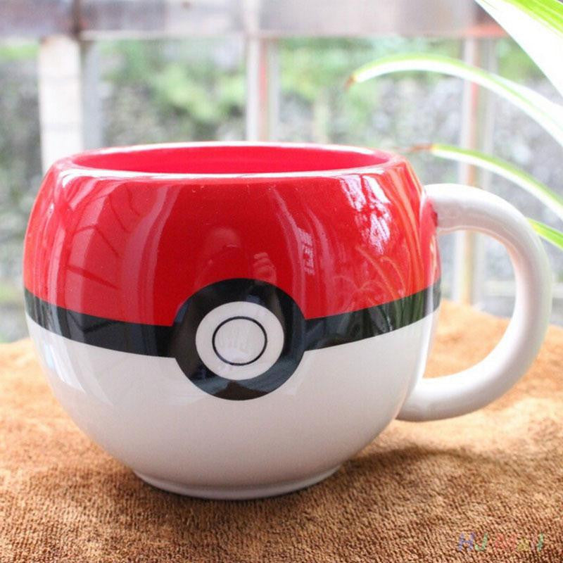 Ceramic Poke'Ball Coffee Mug