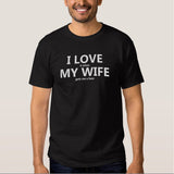 "Funny ""I Love it when My Wife gets me a beer"" Tee"