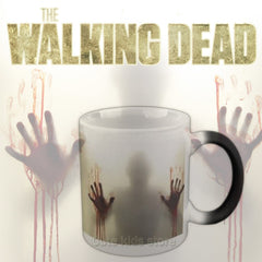 The Walking Dead Heat Sensitive Color Changing Mug