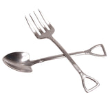 Shovel and Pitchfork (Spoon and Fork) Set