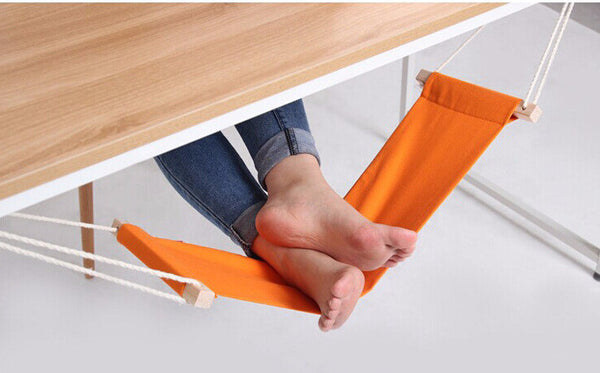 The Desk Hammock Foot Rest