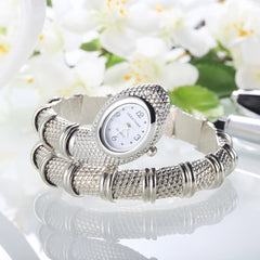 Luxury Ladies Snake Bracelet Watch