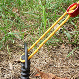 5 Pcs Screw Spiral Tent Camping Stakes