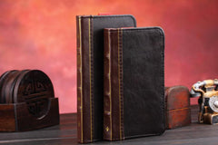 Leather Book iPhone Case & Wallet Flip Book