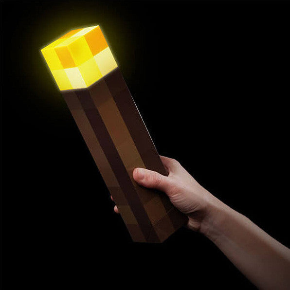 Minecraft Light-Up Torch/Wall Mount
