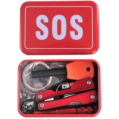 Emergency SOS Outdoor Survival Kit