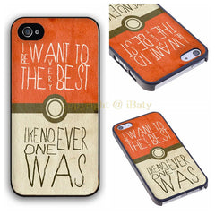 Funny Pokeball Case for Apple iPhone Series