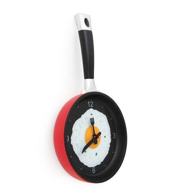 Frying Pan Styled Wall Clock