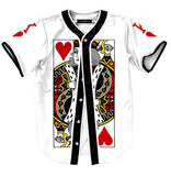The King of Hearts Baseball Jersey