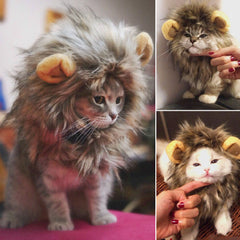 Fluffy Lion Mane Wig For Cat or Dog