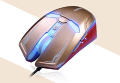 Iron Man USB Optical Gaming Mouse 2400DPI