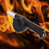 Outdoor Hand Crank  Barbecue Air Blower Fire Starter/Flame Exciter
