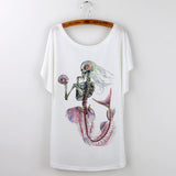 Undead Mermaid Women's Tee