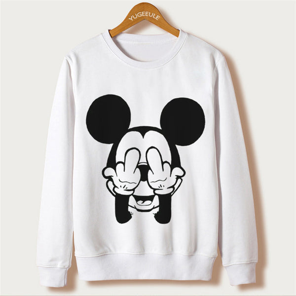 Heartwarming Mickey Mouse Sweatshirt