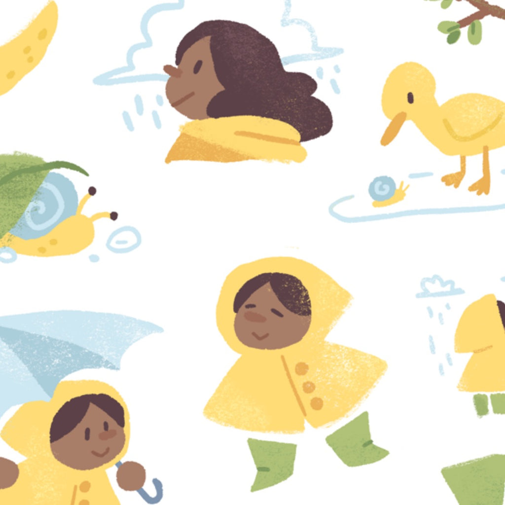 A Sun in the Rain Sticker Set