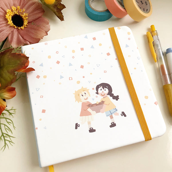 Box of Wonder Square Notebook