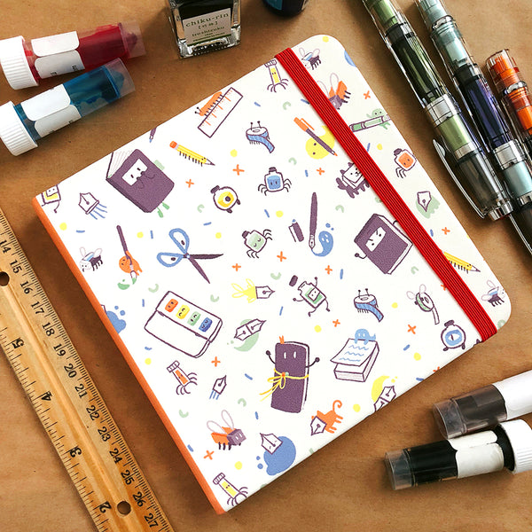 Stationery Spirits Square Notebook