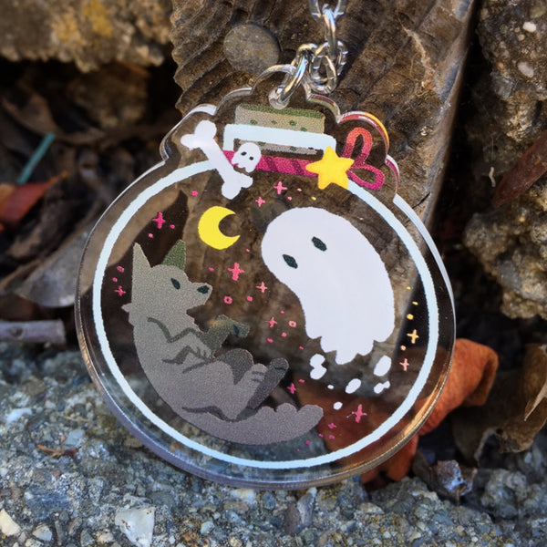 Ghost and Dog Bottle Charm [Coming Soon]