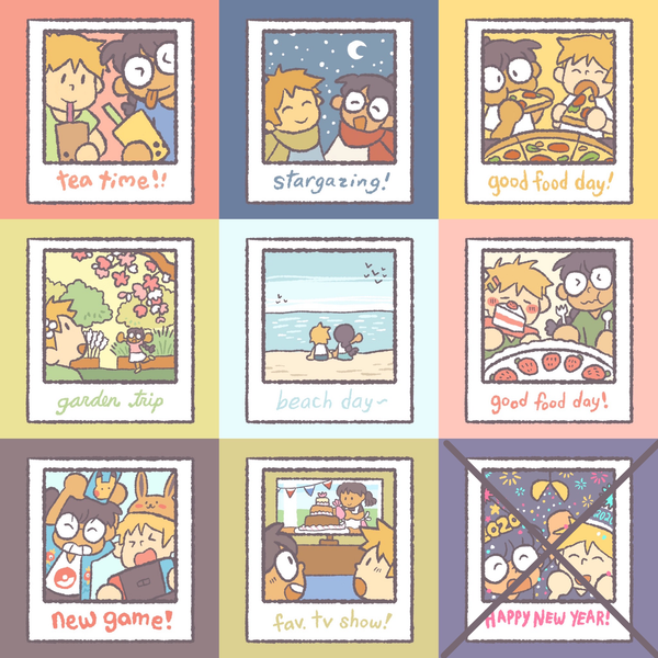 Daily Photos Sticker Set #1